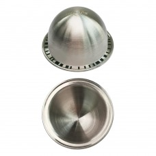 RECAPS Stainless Steel Refillable Capsule Reusable Pod Compatible with Nespresso Vertuoline Machine Only 1 Filter