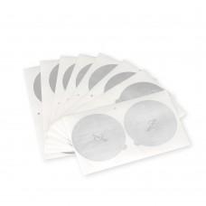 Aluminum Foil Lids to Reuse Coffee Capsules Compatible with Nepresso VertuoLine 100 Pcs