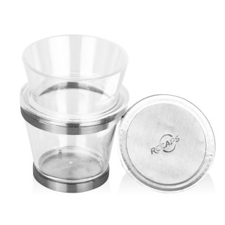 RECAPS Filling Tool Holder Compatible with Vertuoline Coffee Capsules Pods