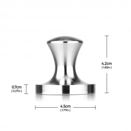 RECAPS Stainless Steel Espresso Coffee Tamper Filling Tool Compatible with Nespresso Vertuoline 45mm